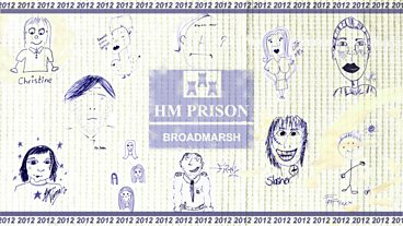 HMP Broadmarsh: Inmate self-portraits