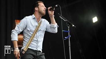 James Morrison at T in the Park 2012