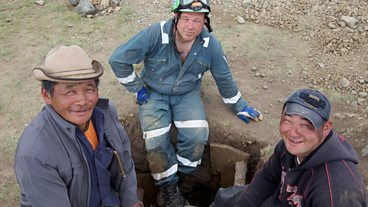 See how British mine worker Craig Notman got on, digging for gold in Mongolia