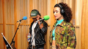1Xtra is 10: Cleo Sol and Angel in session