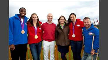 Behind the Scenes of the Bargain Hunt Children in Need Olympic Special