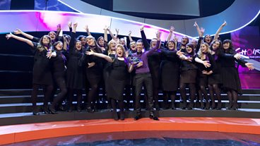 Choir of the Year 2012 winners Les Sirenes