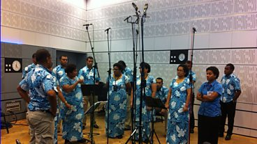 Kadavu Choir, Andrea Wong and Kevu Tavainavesi Join Aled Jones in Studio