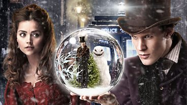 The Snowmen Gallery: The Doctor, Clara and Simeon