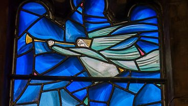 St Marys Parish Church in Kirkintilloch Stained Glass Window