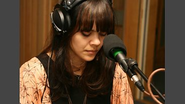 Bat For Lashes in the Live Lounge