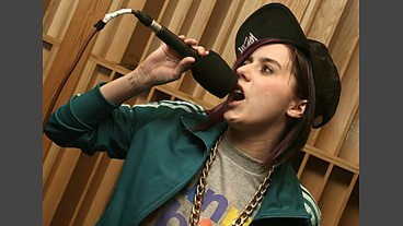 Lady Sovereign in the Live Lounge - 15 Apr 2009