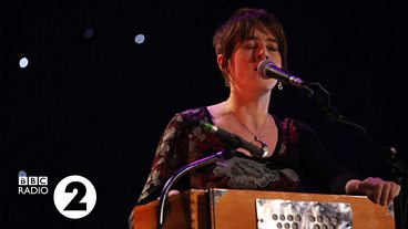Karine Polwart at the Radio 2 Folk Awards 2013