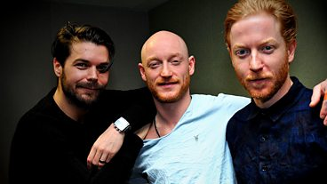 Biffy Clyro session for the Vic Galloway Show