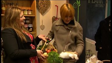 Mary Portas in Market Rasen