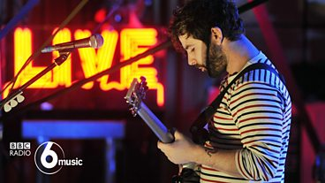 Foals in session at Maida Vale for Lauren Laverne
