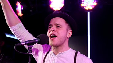 Olly Murs in the Live Lounge