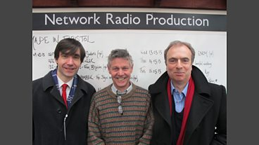 Andrew Chandler, Matthew Parris and Peter Hitchens