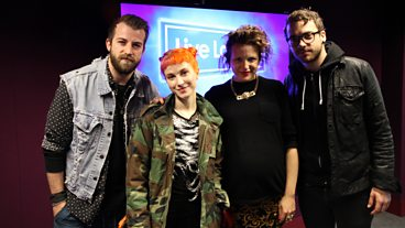 Paramore in the Live Lounge