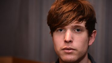 James Blake in session
