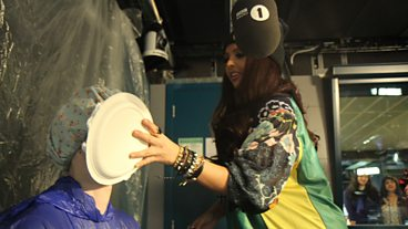 Little Mix play Pie Tennis!