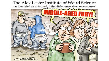 Alex's Cartoon Gallery 2012-2013