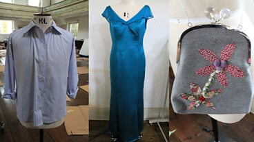 Episode 4 - Men's shirts, evening bags and evening dresses