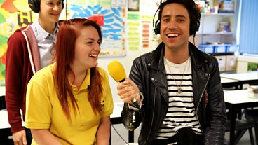 The Radio 1 Breakfast Show Schools Tour Reaches Swindon