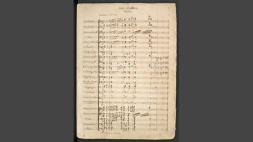 Wagner manuscripts at the British Library