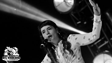 Jessie Ware at Radio 1's Big Weekend