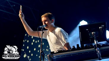 Disclosure at Radio 1's Big Weekend