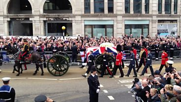 Funeral of Baroness Thatcher