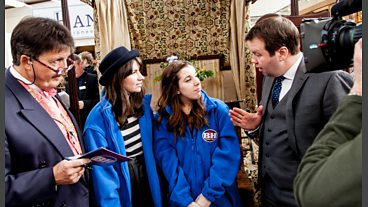 Behind the scenes of Bargain Hunt series 35