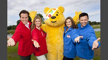 Behind the scenes of the Children in Need Strictly Come Dancing special