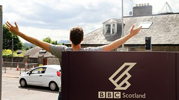 Greg James Sofa Surfing Day 1 - Inverness
