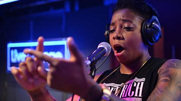 A Dot rocks the Live Lounge!