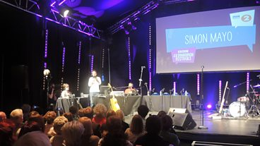 Day 1: Simon Mayo live from the Edinburgh Festival