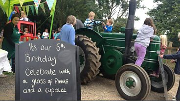 Hartley Farm near Winsley celebrates 5 years
