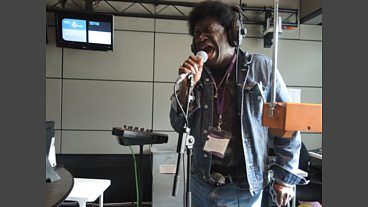 Charles Bradley live in session