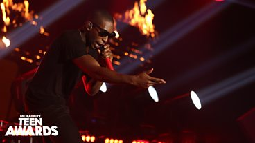 Tinie Tempah at Radio 1's Teen Awards 2013