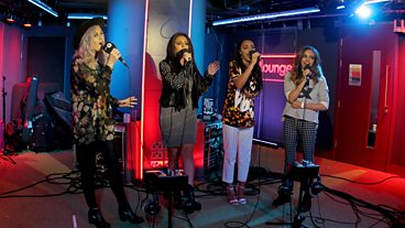 Little Mix in the Live Lounge