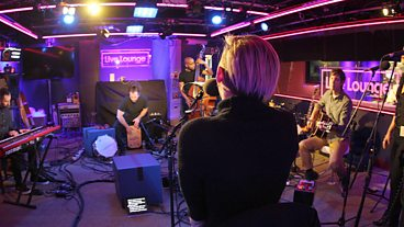 Miley Cyrus in the Live Lounge