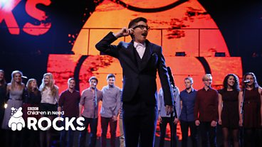 Gareth Malone and Voices at Children In Need Rocks 2013