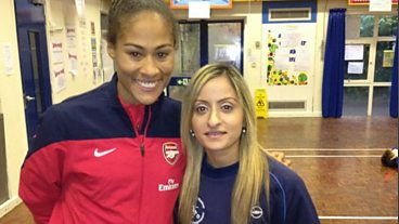 Football coach Manisha Tailor