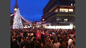 Leicester's Christmas Lights Switch On 2013