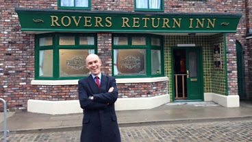 New Coronation Street set