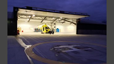 Welcome to the new Air Ambulance base
