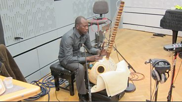 The Ballake Sissoko Quartet in session for World on 3