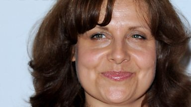 Image for Actress Rebecca Front on comedy and jumpers