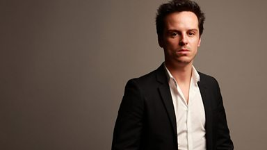 Image for Andrew Scott who plays Stephen Dedalus describes James Joyce's Ulysses