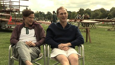 Image for Matt and Sam talk about playing Olympic gold medal winners, Bert and Dickie