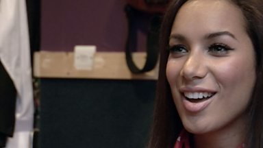 Image for Leona Lewis on starting out