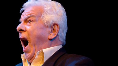 Image for Barry Cryer sings 'Psycho Killer' to the tune of 'Old Man River'