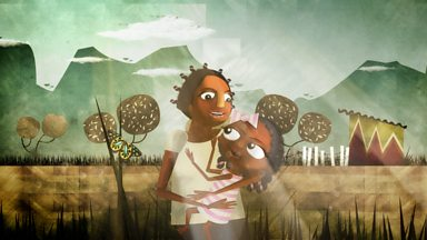 Image for Juliane's journey from Zimbabwe (animation)