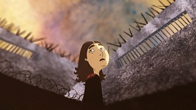 Image for Rachel's journey from a country in Eurasia (animation)